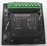 Thermostat de chauffage d'étage d'écran tactile avec en alliage de zinc