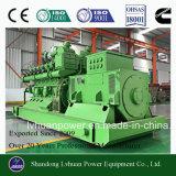 De Generator van de biomassa met Brandstof van Hout of strooit het Gas van de Gasvorming uit
