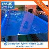 Plastic Blad van pvc van de transparantie het Blauwe voor Sunglass
