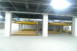 Sistema do estacionamento do enigma com Ce