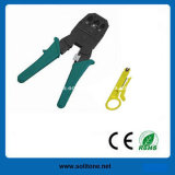 RJ45/Rj11 Modular Plug를 위한 주름을 잡는 Tool