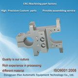 La coutume en aluminium de précision partie d'usinage CNC anodisé avec jet de sable