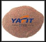 Buena voladura de arena superficial del granate del material 30/60 del chorreo de arena del funcionamiento