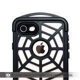 Caisse imperméable à l'eau antichoc en métal de modèle d'araignée de mobile/portable pour l'iPhone 7/7s