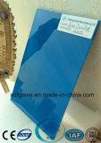 Vidro pintado azul com Ce, ISO