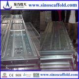 Steel galvanizzato Scaffolding Walking Board per Steel Frame System