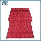Colchão de sono portátil Travel PVC Flocking Inflatable Car Air Bed