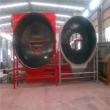 Essiccatore rotativo di grande capienza per bentonite, carbone, pirite, segatura