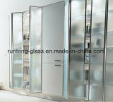 vetro temperato di /Bathroom glassato portello di vetro Tempered dell'acquazzone di 10mm Frameless