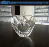 35ml de Fles van het Parfum van het Glas van het Ontwerp van de Schoonheid van de Vorm van het hart