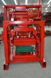 Machine de fabrication de brique Qtj4-35b2 creuse semi automatique
