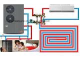 低温-25º 床暖房のためのヒートポンプに水をまくCの空気