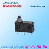 L'eau et (IP67) contact coulissant micro imperméable à la poussière pour le commutateur de bouton poussoir d'appareil ménager