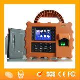 Móvil portátil biométrico de huellas del tiempo la asistencia Terminal (HF-S922)