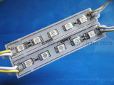SMD 5050 5 LED-Baugruppen-wasserdichte gelbe Leuchte