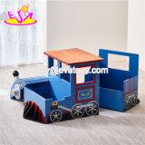 2018 Nuevo diseño de tren de madera de forma creativa a los niños tabla para la escuela primaria W08G242