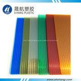 Diverse Kleuren van het Berijpte Polyvan het Carbonaat Blad van het PC- Dakwerk