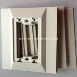 Personalizado de aleación de zinc moldeado a la placa de guarnición con la capa del polvo de la superficie de la Gas Médico de Equipo de Tratamiento