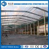 Пакгауз/фабрика проекта Африки высокого качества Prefab стальные/полиняно