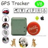 I più nuovi mini inseguitore di GPS con GPS+Lbs+Agps per gli animali domestici/personale (V8)