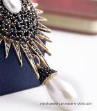 Qualitäts-elegante Form-Luxuxperlen-hängende Brosche-Schmucksachen