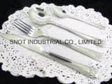 jeu réglé de vaisselle plate de vaisselle réglée des couverts 4PC/16PCS/24PCS