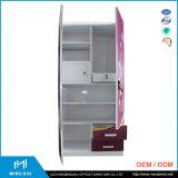 A Índia Style 2 Quarto Porta guarda-roupa de metal / Aço armário guarda-roupa