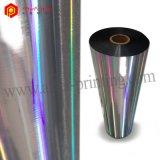 Pellicola di laminazione termica lucida metallizzata dell'ologramma dei reticoli BOPP