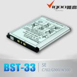 Батарея сотового телефона для батареи Bst-33 Se