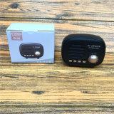 Nuevo American-Style Retro Vintage mini altavoz portátil Bluetooth radio FM estéreo reproductor de música