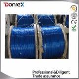 전기판에 의하여 직류 전기를 통하는 철강선 밧줄 DIN3055