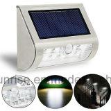 Горячий свет стены датчика движения сбывания 9 SMD солнечный напольный