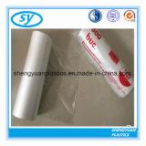 Transparente Plastiknahrungsmittelbeutel auf Rolle