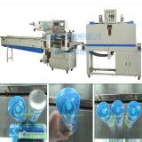 Máquina automática llena del envoltorio retractor de la botella del aerosol de aerosol del control de motor servo