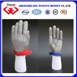 Gants en acier de boucher d'anti découpage de protection (tyb-0048)