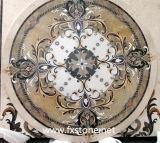 Цветок высекая мраморный мозаику (MSK-004)