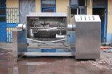 Vacío de la materia que cocina el crisol con el mezclador