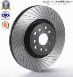 Fabrication directe d'usine chinoise avec Ts16949 des rotors de frein à disque de frein du numéro 424699 de la conformité OE pour Peugeot