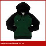 スポーツ(T08)の人のための安い綿Hoodiesの上のカスタム方法デザインジッパー