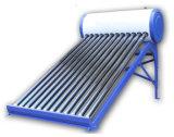 Calefator de água quente solar evacuado do sistema de energia solar da câmara de ar da baixa pressão
