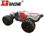 Best Fast Electric Off Road RC Controle Remoto 1: 10 Corpo Vermelho