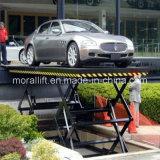 Un parking Ciseaux de relevage hydraulique