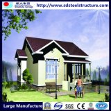 Dormitório pré-fabricado da casa de campo da casa do Prefab popular de África para a família