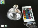 Новые лампы RGB полноцветный светодиодный индикатор 3 Вт кристально этапе лампа автоматической ротации этап эффект DJ лампы