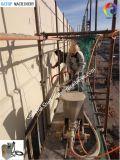 Machine sur place de jet de matériel d'enduit de poudre d'opération de mur extérieur
