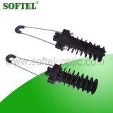 Isolierungs-Optikfaser-Spannkraft-Schelle für ADSS Kabel