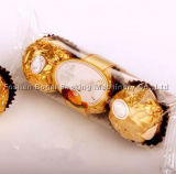 Цена машины упаковки самого нового выдвиженческого шоколада ручное