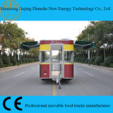 De populaire Multifunctionele Vooruitzichten pasten de Mobiele Aanhangwagen van het Voedsel met Ce aan