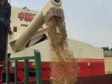 새로운 밀 밥 콩 결합 수확기
