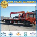 販売のためのDongfeng 4X2 6の車輪のレッカー車の取付けられたクレーン